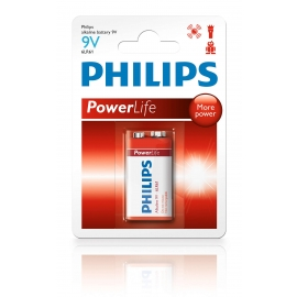 PIN PHILIPS ALKALINE 9V 6LR61P1B/97