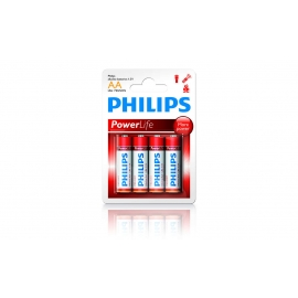 PIN PHILIPS ALKALINE AA LR6P4B/97