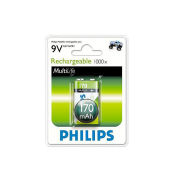 Pin sạc PHILIPS 9VB1A17/10 (170MAH)