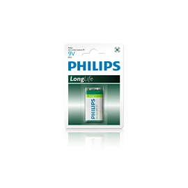 Pin Philips kẽm carbon 9V 6F22L1B/97