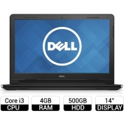 Laptop Dell Inspiron 14 3458 i3-5005U 14 inch Black (TXTGH2)
