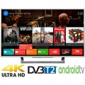 Android Tivi Led Sony 43 inch KD-43X8000D/S VN3 4K Bạc