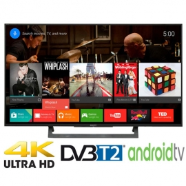 Android Tivi Led Sony 49 inch KD-49X8000D VN3 4K Đen
