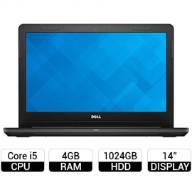 Laptop Dell Ispiron 3467 C4I51107 (Đen)